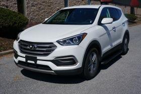 Hyundai Santa Fe Sport SUV Running Boards Romik® RB2-B Side Steps (2013-2018)