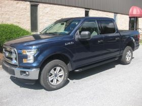 Ford F-150 Super Cab Running Boards Romik® RB2-TB Side Steps (2015-Present)