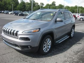 Jeep Cherokee SUV Running Boards Romik® RAL-S Side Steps (2014-Present)