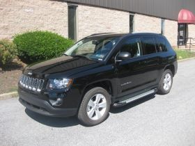 Jeep Compass SUV Running Boards Romik® RAL-S Side Steps (2007-2016)