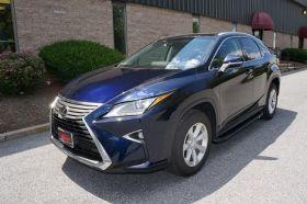 Lexus RX SUV Running Boards Romik® RAL-B Side Steps (2016-Present)