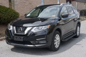 Nissan Rogue SUV Running Boards Romik® RAL-B Side Steps  (2014-2020)