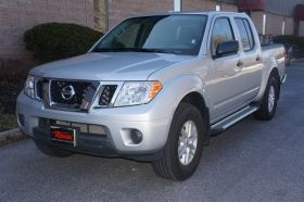 Nissan Frontier Crew Cab Running Boards Romik® RAL-TS Side Steps (2005 - Present)