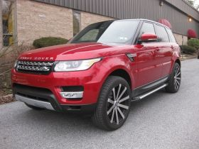 Land Rover Range Rover Sport SUV Running Boards Romik® RAL-S Side Steps (2014-Present)