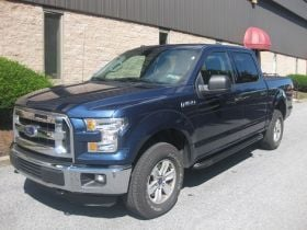 Ford F-150 Super Crew Cab Running Boards Romik® RAL-TB Side Steps (2015 - Present)