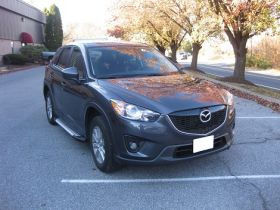 Mazda CX5 SUV Running Boards Romik® RAL-S Side Steps (2013-2016)