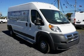 Dodge ProMaster NO DRILL Running Boards Romik® RCV-S Side Steps (2014-Present)