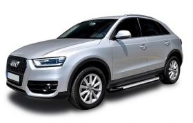 Audi Q3 SUV Running Boards Romik® RAL-S Side Steps (2014-2019)