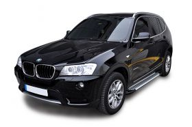 BMW X3 SUV Running Boards Romik® RAL-S Side Steps (2012-2017)