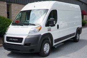 Dodge ProMaster NO DRILL Romik Connect Running Boards ROB-C Side Steps (2014-Present)