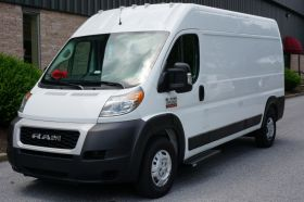 Dodge ProMaster NO DRILL Romik Connect Running Boards ROF-C Side Steps (2014-Present)