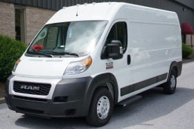 Dodge ProMaster NO DRILL Romik Connect Running Boards RPD-C Side Steps (2014-Present)