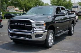 Dodge Ram HD Crew Cab Running Boards Romik® RAL-TB Side Steps (2019 - Present)