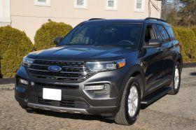 Ford Explorer SUV Running Boards Romik® RB2-B Side Steps (2020-Present)