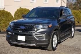 Ford Explorer SUV Running Boards Romik® REC-P Side Steps (2020 - Present)