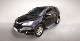 Honda CRV SUV Running Boards Romik® RAL-S Side Steps (2007-2011)