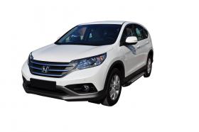 Honda CRV SUV Running Boards Romik® RAL-S Side Steps (2012-2016)