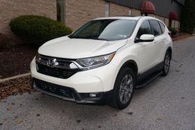 Honda CRV SUV Running Boards Romik® RAL-B Side Steps (2017-Present)