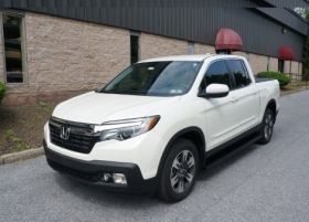 Honda Ridgeline Running Boards Romik® ROB-T Side Steps (2017 - Present)