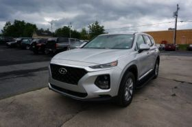 Hyundai Santa Fe SUV Running Boards Romik® RAL-B Side Steps ( 2019-2020 )