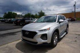 Hyundai Santa Fe SUV Running Boards Romik® RAL-S Side Steps ( 2019-2020 )