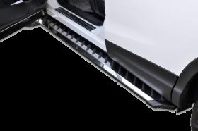 VW Tiguan SUV Running Boards Romik® RZR Side Steps (2018-Present)
