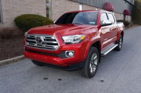 Toyota Tacoma Double Cab Running Boards Romik® RB2-TS Side Steps (2005 - Present)